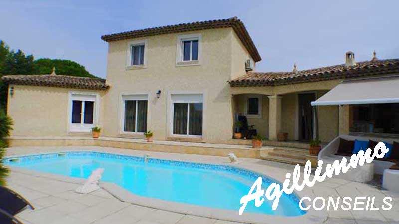 Villa provençale avec belles prestations dans le Var - PUGET SUR ARGENS - Sud de la France