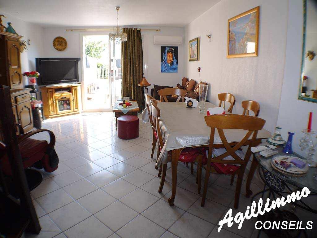 Maison 3 pièces avec garage et jardin - PUGET SUR ARGENS - Sud de la France