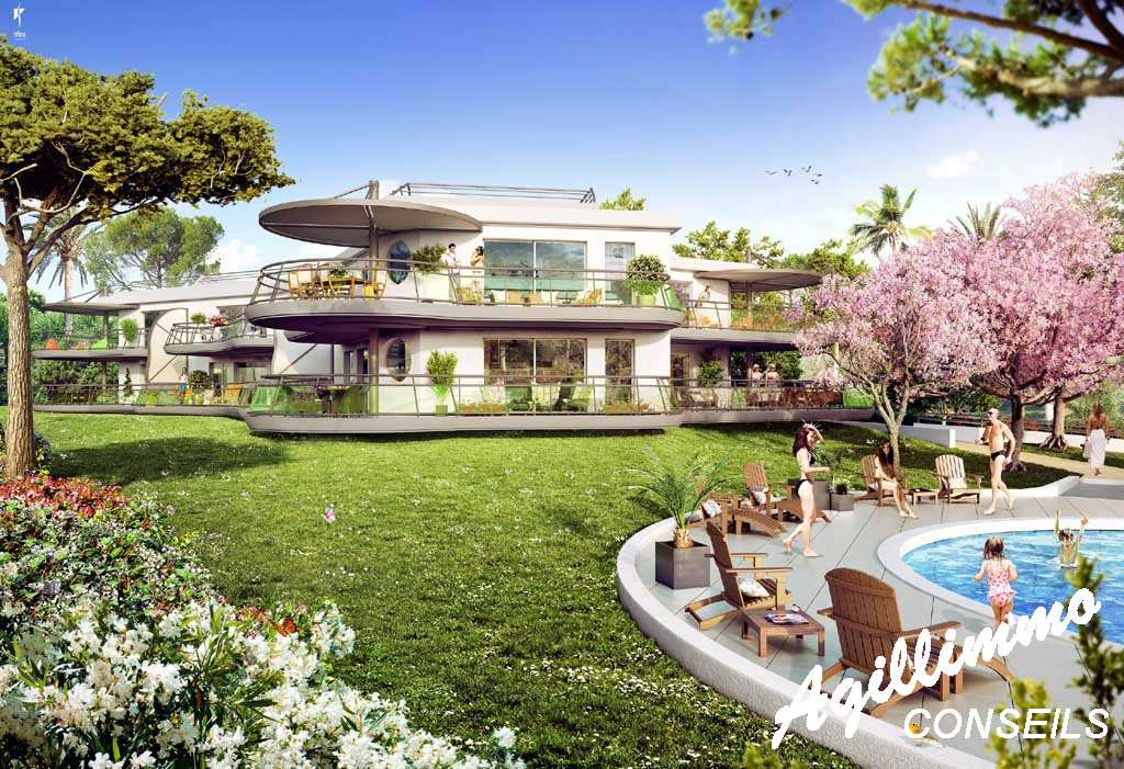 Immobilier neuf en bordure de Golf - SAINT RAPHAEL - Sud de la France