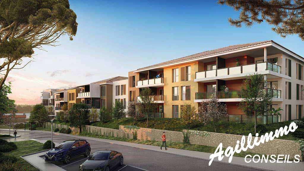 Appartement T3 neuf avec terrasse et parking - 83300 - Sud de la France
