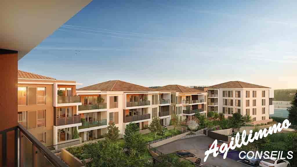 Appartements neufs Les balcons de Provence - DRAGUIGNAN - Sud de la France