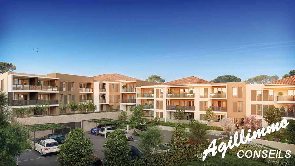 Appartement neuf T2 avec box et terrasse - DRAGUIGNAN - Sud de la France