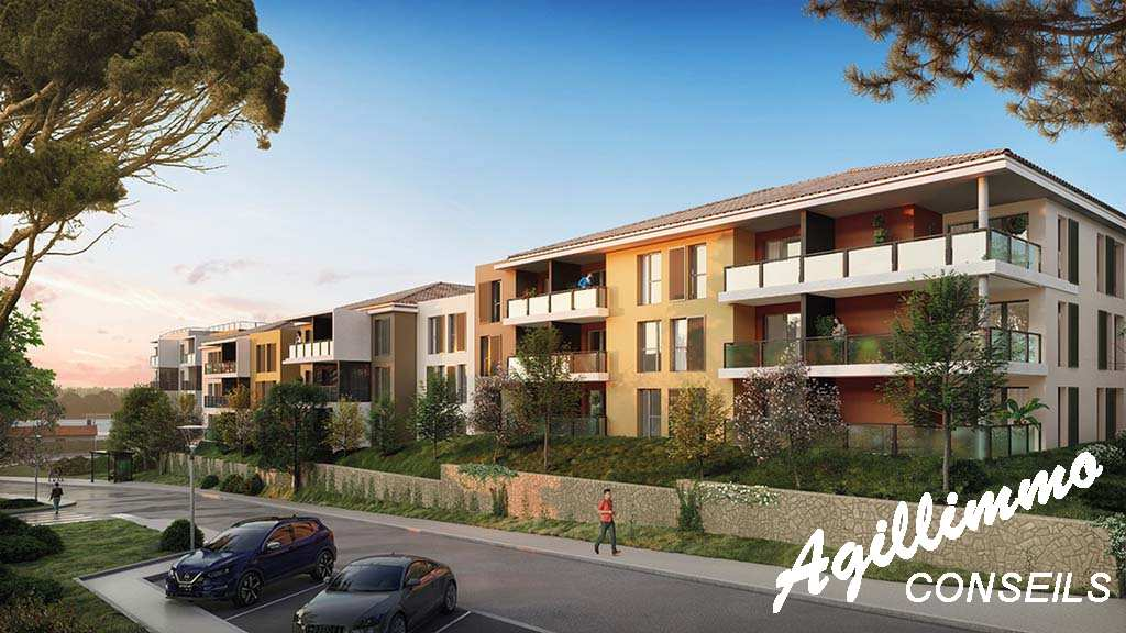 Appartements neufs Les balcons de Provence - DRAGUIGNAN 83300 - Sud Est de la France