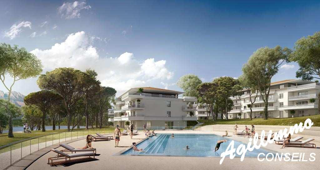 Appartements neufs T2 T3 T4 Le Domaine du Lac - PUGET SUR ARGENS - Sud de la France