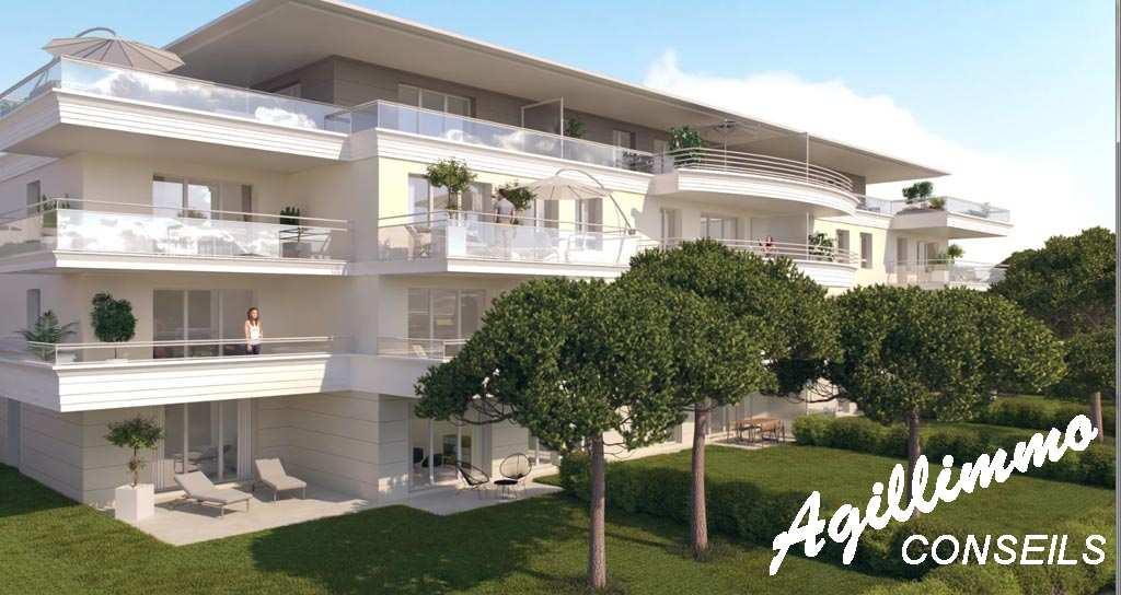 Appartements neufs T2 T3 T4 Le Domaine du Lac - PUGET SUR ARGENS dans le Sud de la France