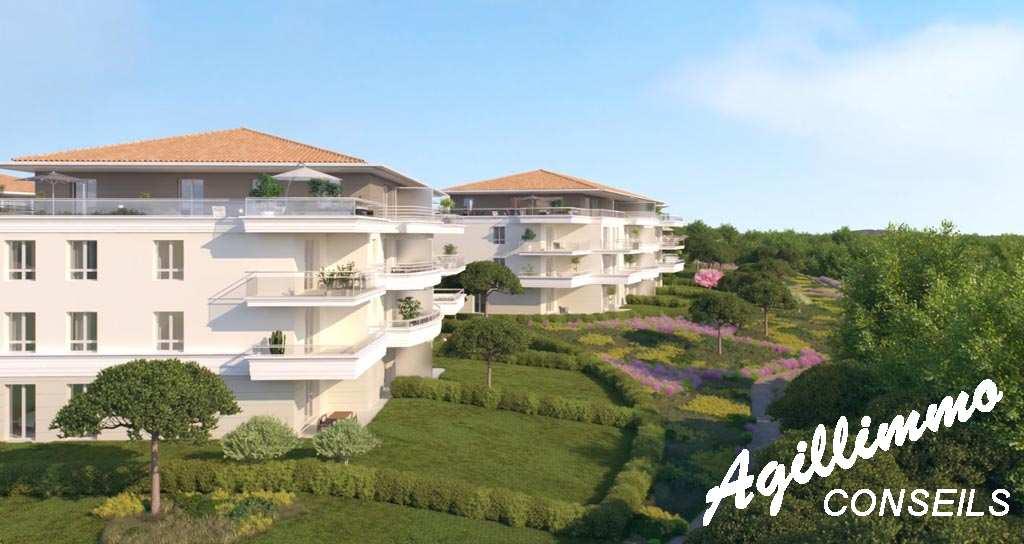 Appartements neufs T2 T3 T4 Le Domaine du Lac - PUGET SUR ARGENS dans le sud Est de la France