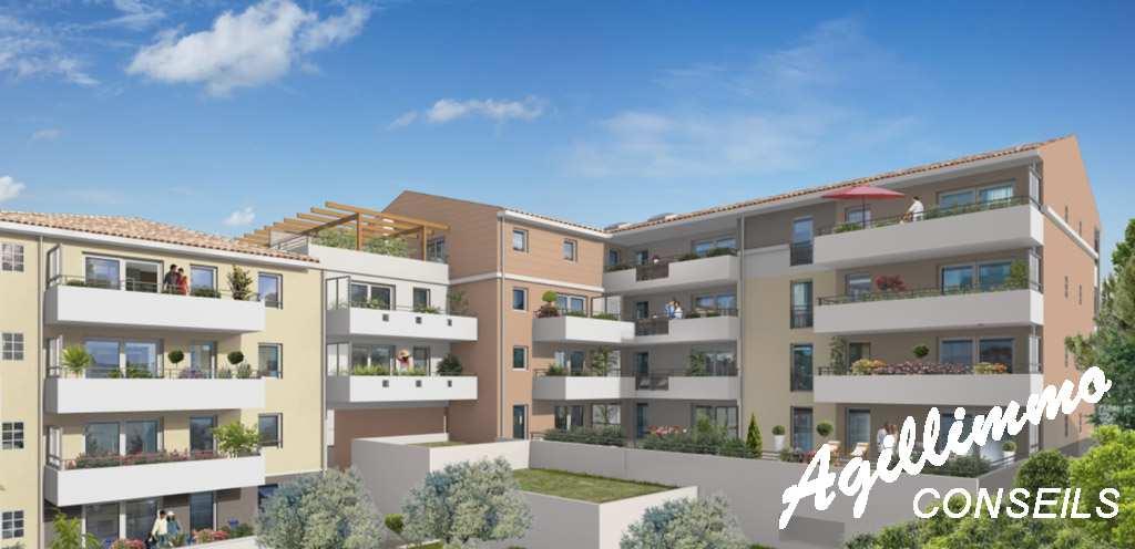 Appartements neufs au coeur du centre ville - 83480 - Sud de la France