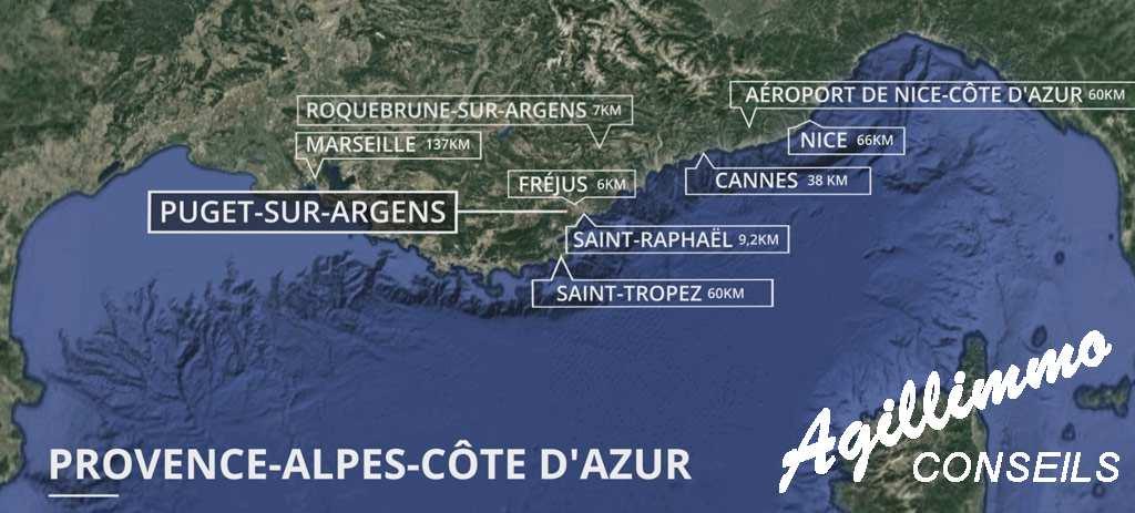 Sud Est de la France :  Appartements neufs au coeur du centre ville - PUGET SUR ARGENS