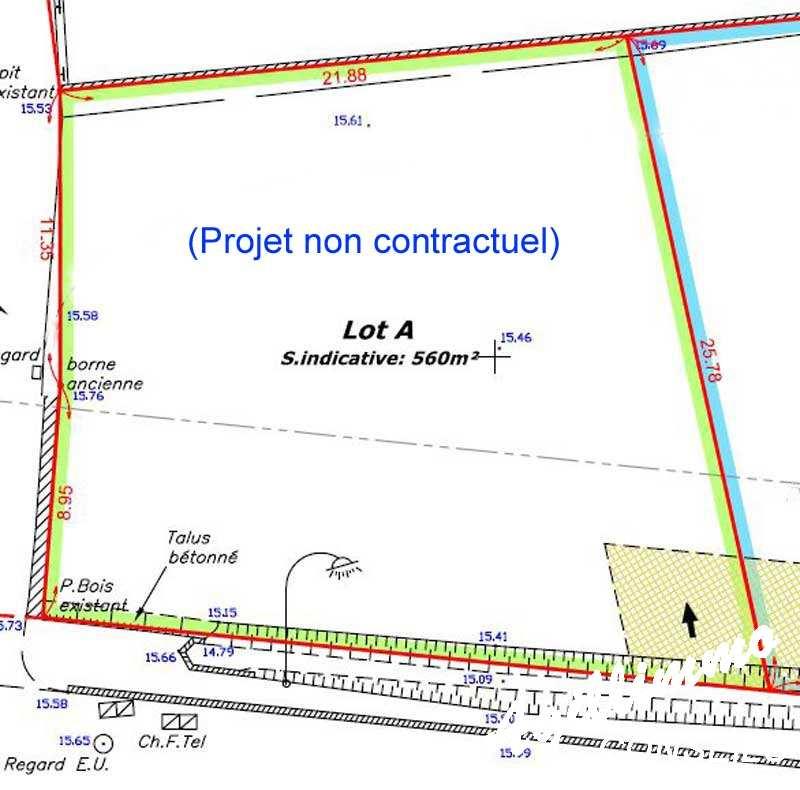 Terrain à bâtir de 560 M2 - PUGET SUR ARGENS - Sud de la France