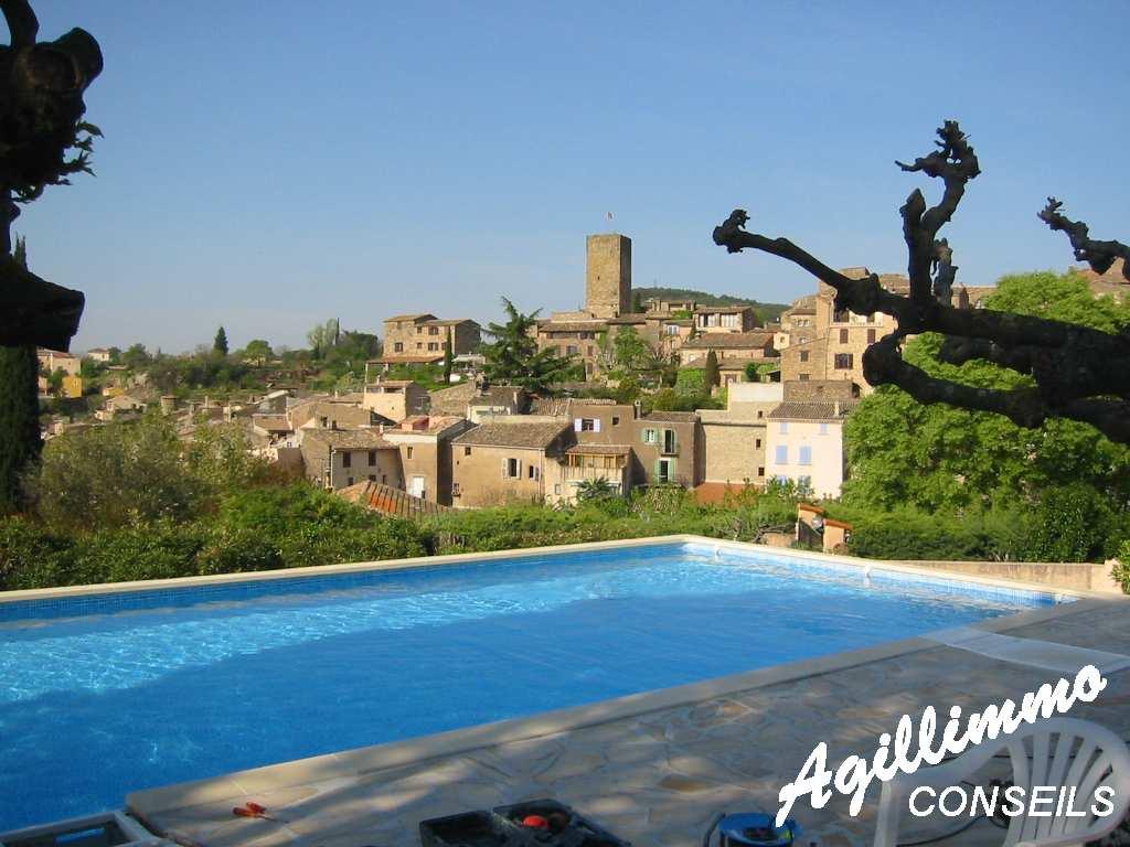 Villa avec vue imprenable et piscine - LES ARCS - Sud de la France