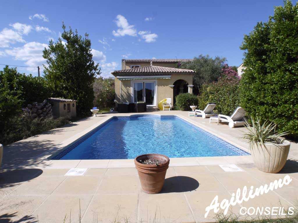 Villa avec piscine - PUGET SUR ARGENS - Sud de la France