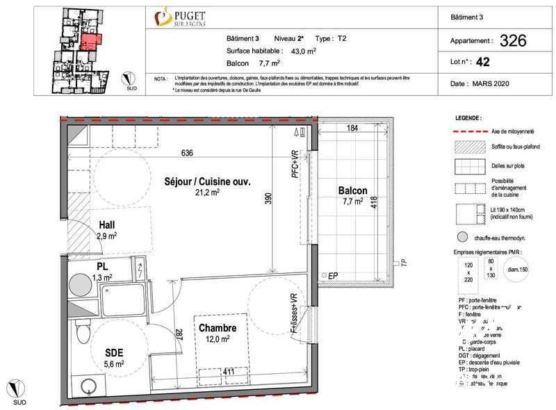 Appartement 2 pièces neuf centre-village - PUGET SUR ARGENS - Sud de la France