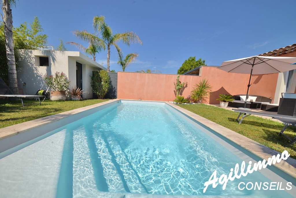 Superbe maison moderne 3P avec piscine  - PUGET SUR ARGENS - Sud de la France