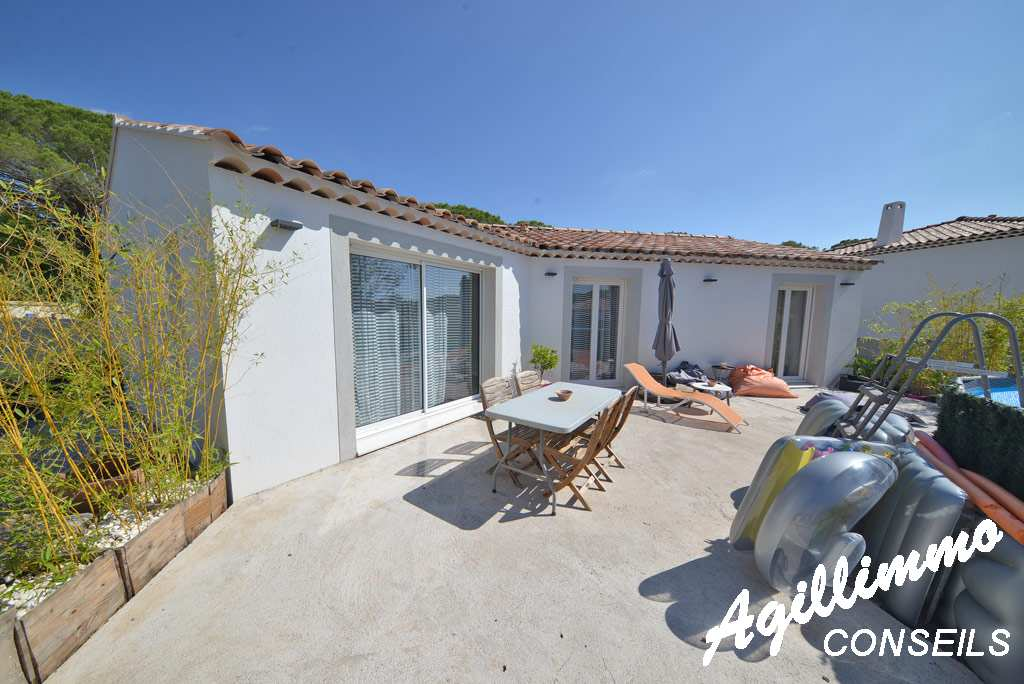 Villa 4P moderne terrain 550m2 - PUGET SUR ARGENS - Sud de la France