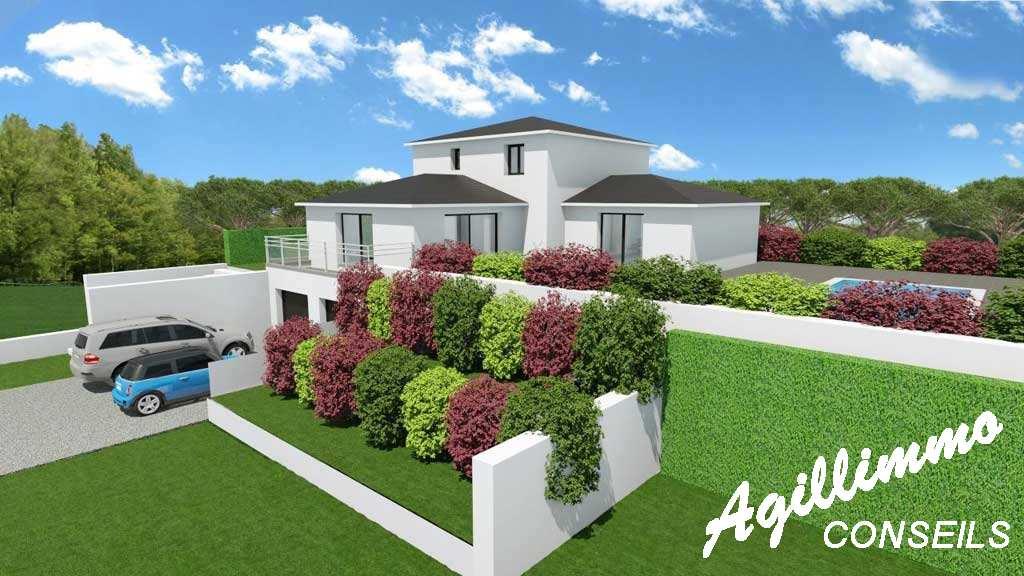 Maison moderne neuve 6 pièces - Var - Sud de la France