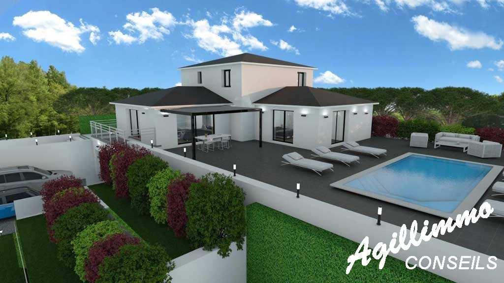 Maison moderne neuve 6 pièces - 83 - Sud de la France
