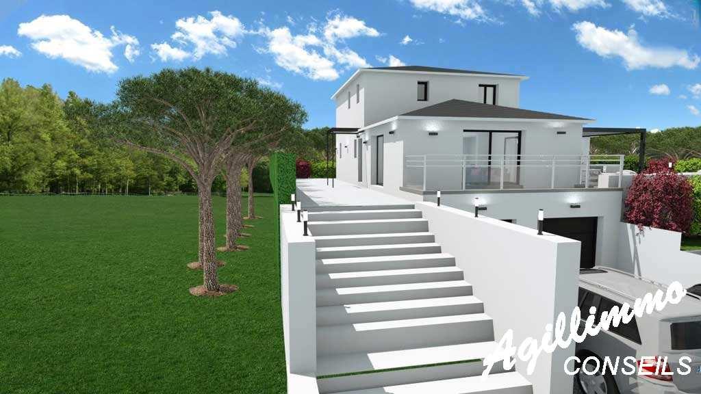 Maison moderne neuve 6 pièces - Var 83 - Sud Est de la France