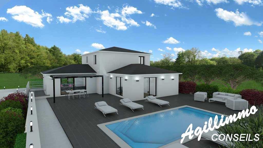 Maison moderne neuve 6 pièces - Var dans le Sud de la France