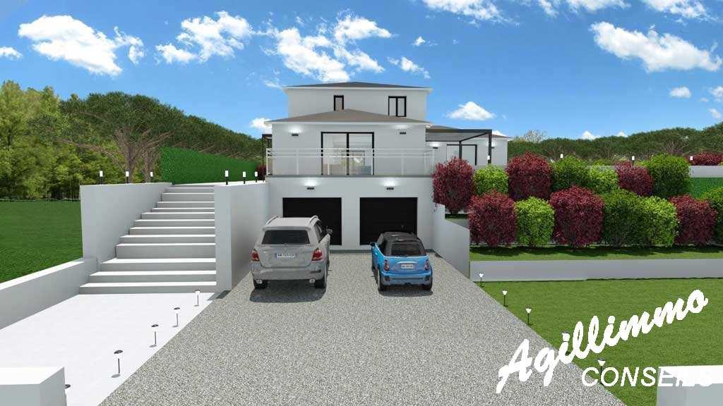 Maison moderne neuve 6 pièces - Var - Sud Est de la France