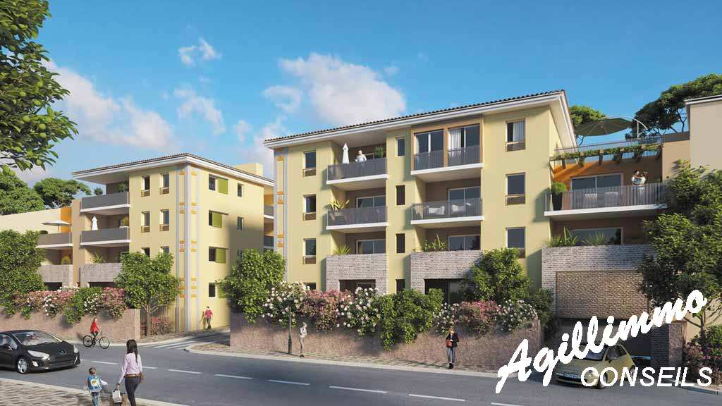Appartements neufs centre-village - PUGET SUR ARGENS - Sud de la France
