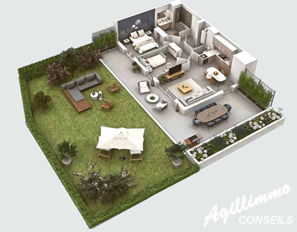 Sud Est de la France :  Appartements neufs centre-village - PUGET SUR ARGENS