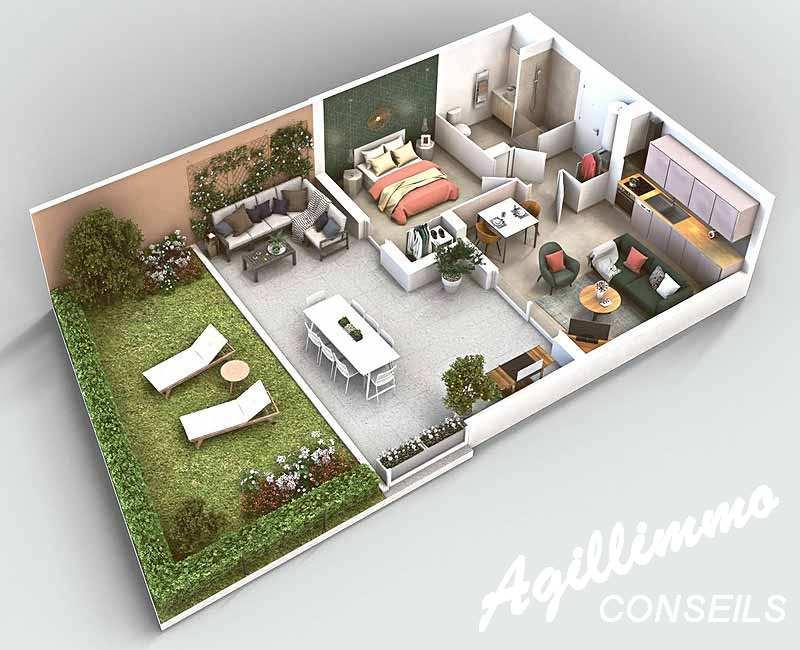 Appartements neufs centre-village - PUGET SUR ARGENS 83480 - Sud Est de la France