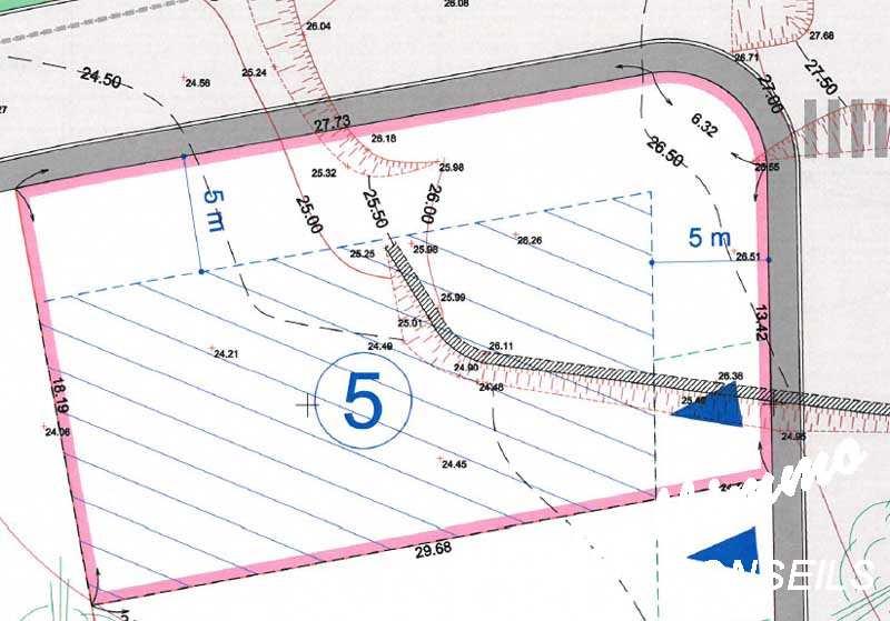 Terrain viabilisé 560 m2 - PUGET SUR ARGENS - Sud de la France