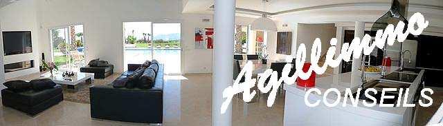 Villa moderne de luxe sur terrain 3072 m2 - LE CANNET DES MAURES dans le sud Est de la France